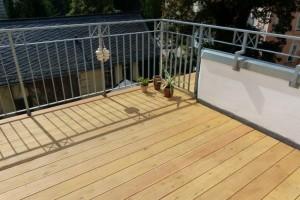 Balkon und Dachterasse