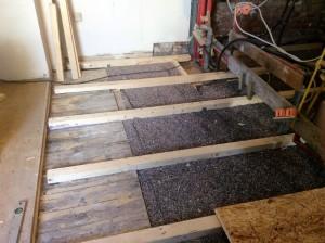 Fußbodenaufbauten jeglicher Art