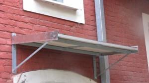 Konstruktionsvorschläge und Anbauten von Vordächern